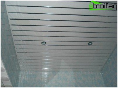 plastic ceiling panels