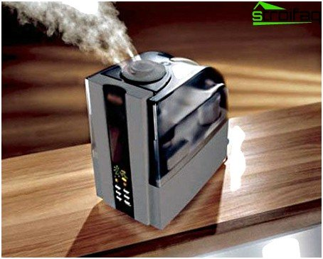 The steam humidifier