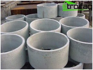 Concrete collars for filter wells