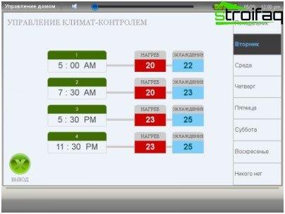 Managing climate control