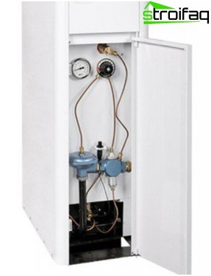 Single-circuit gas boiler