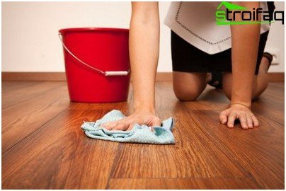 Caring for laminate