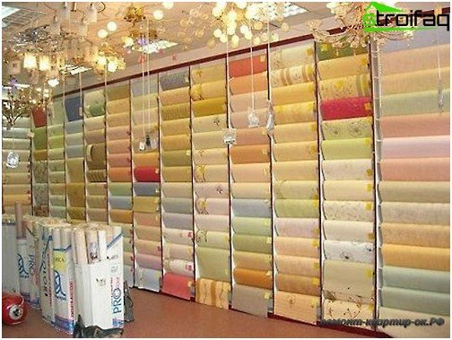How to choose wallpaper for the room: a variety of choices