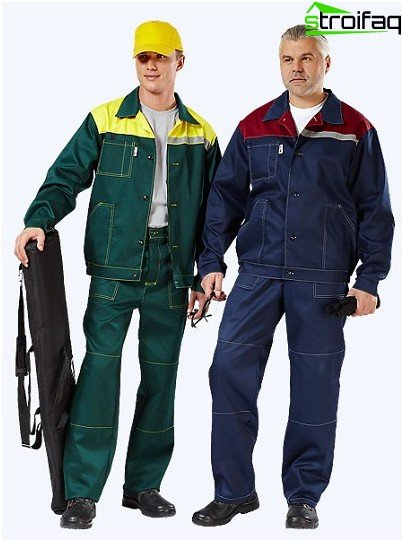 Overalls for electrician
