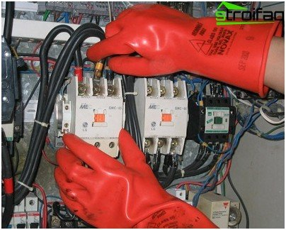 Dielectric gloves