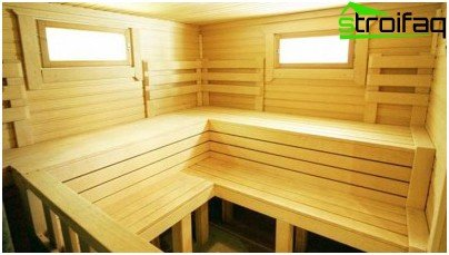 Wooden windows for a bath - a good option