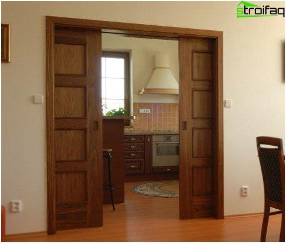 Example of sliding doors