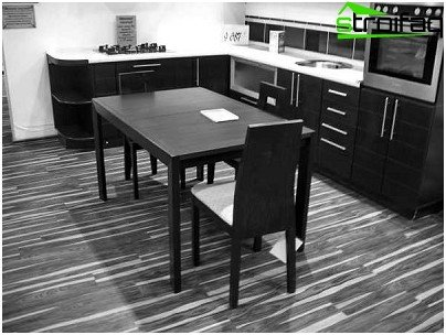 Linoleum Kitchen