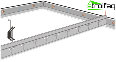 How to install the bracket profile