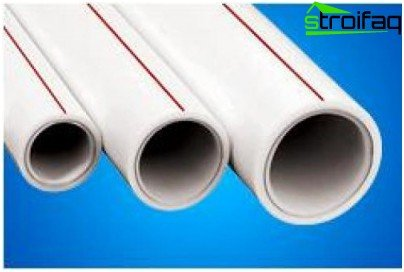 Types of pipes for hot water underfloor heating
