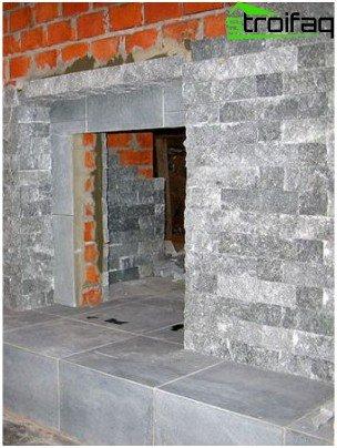 Tiled oven portal