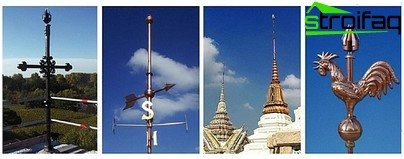 Varieties of active lightning rods