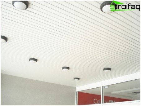 Pinion ceilings gated
