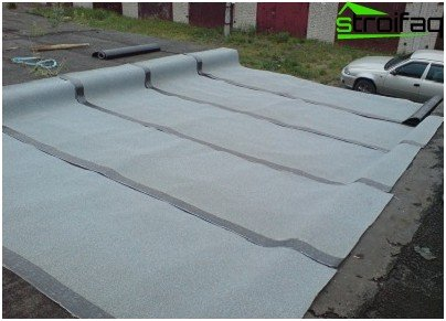 Roof Waterproofing ruberoid