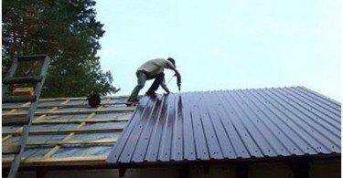 A membrános tető javítása