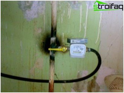 How to install a gas meter in the apartment