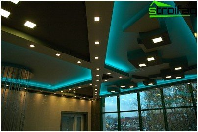 LED lighting in the house