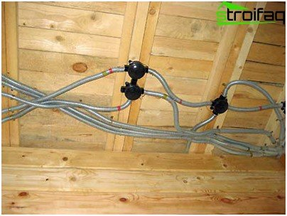 The results of electrical work