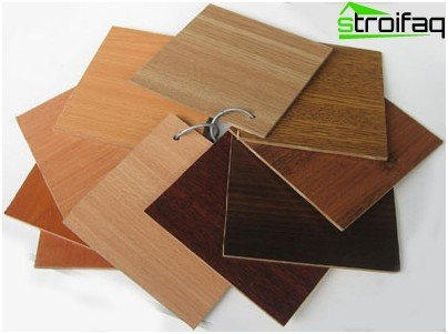 Types of laminate