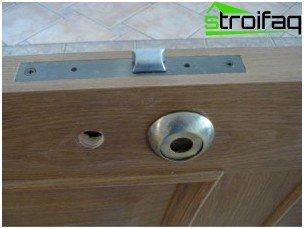 Installation of door hardware