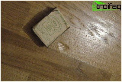 Defect flooring