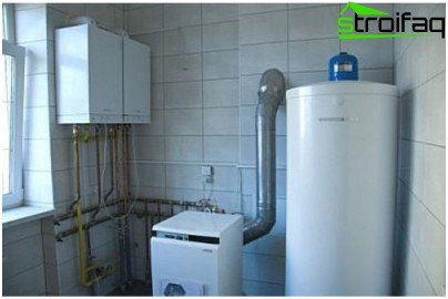 Installation of gas boiler - rules