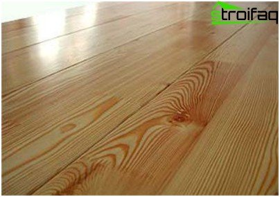 Why wooden floors covered with paint formulations