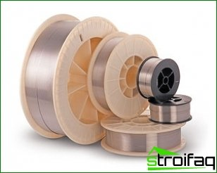 Selection of welding wire