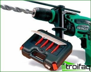 The correct approach to the selection of an electric drill