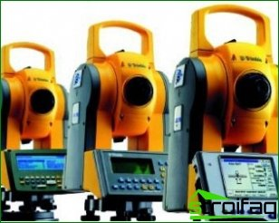 Modern total stations and their features
