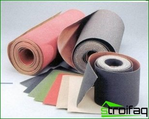 Sandpaper - tips on choosing
