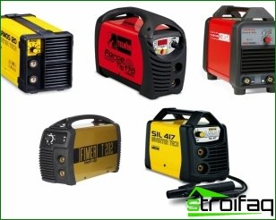 Recommendations regarding the selection of welding equipment