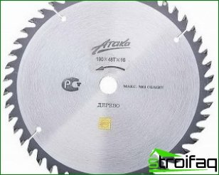 Circular saw blades and their main types