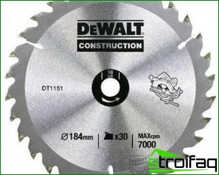 Properly chosen saw blade - a guarantee of quality and safe processing of wood