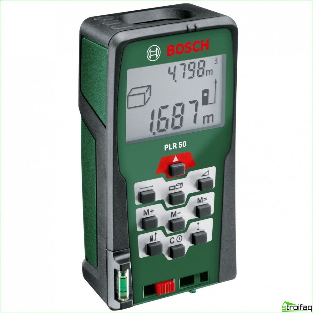 Laser range finders - modern device for determining the distance between objects