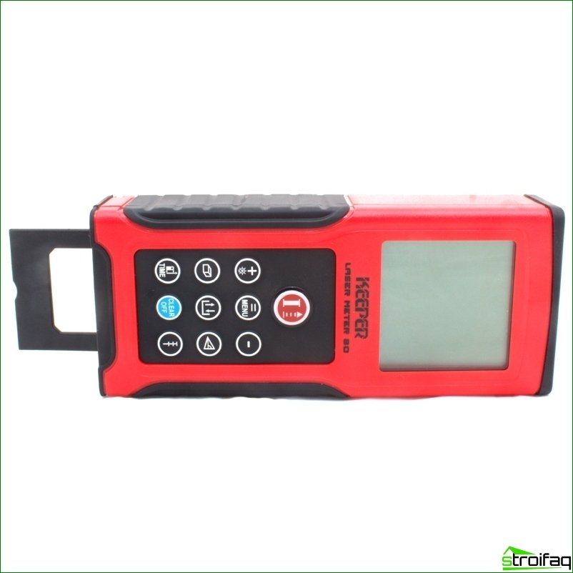 Laser range finders - modern instruments to accurately measure distances
