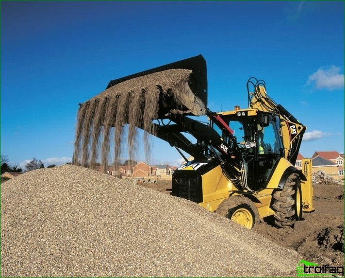 Caterpillar Loaders: scope, benefits, features