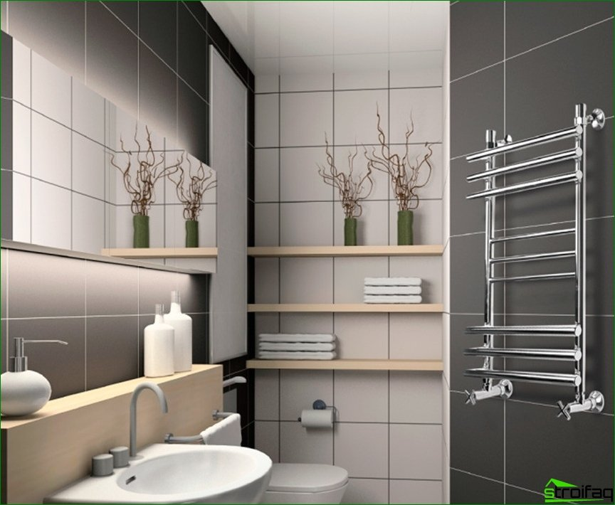 Advantageous updated bathroom
