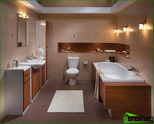Design combined bathroom