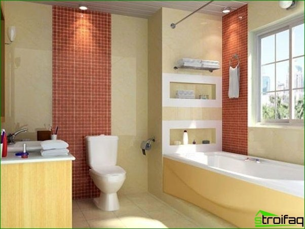 A small bathroom can be comfortable - how to achieve this?