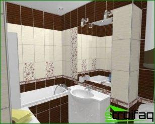 Design combined bathroom