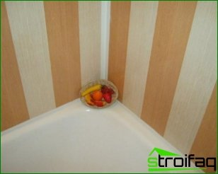 How to decorate the bathroom plastic panels: recommendations on the selection of color