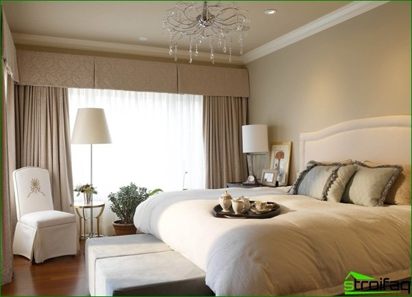Recommendations for the design of bedrooms