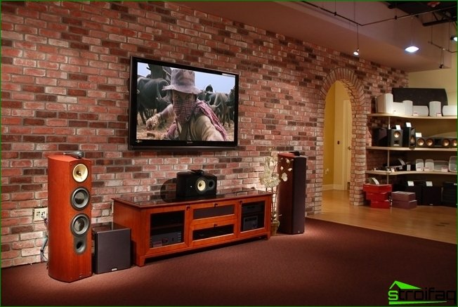 Interior decoration decorative brick