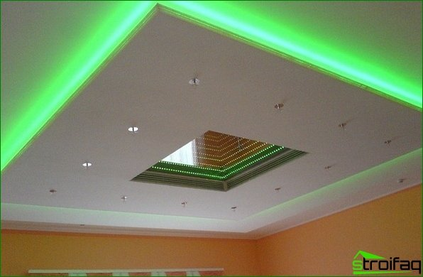 Ceiling Repair: Interior lights LED