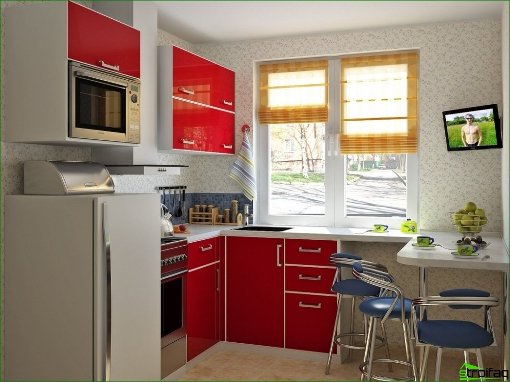 How to equip a small kitchen?