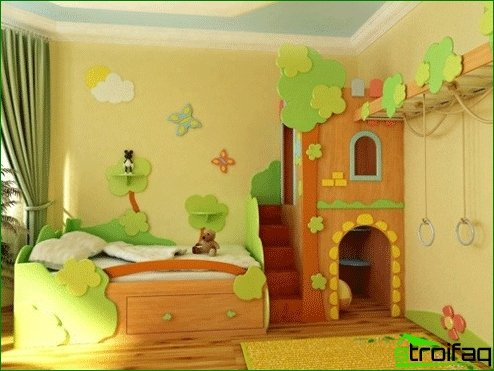 Interior design children's room