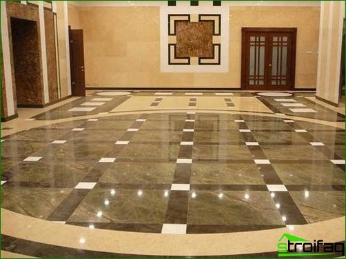 Marble and its use in the interior