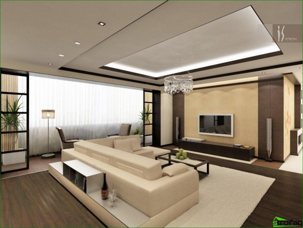 living room design - Articoli su costruzione