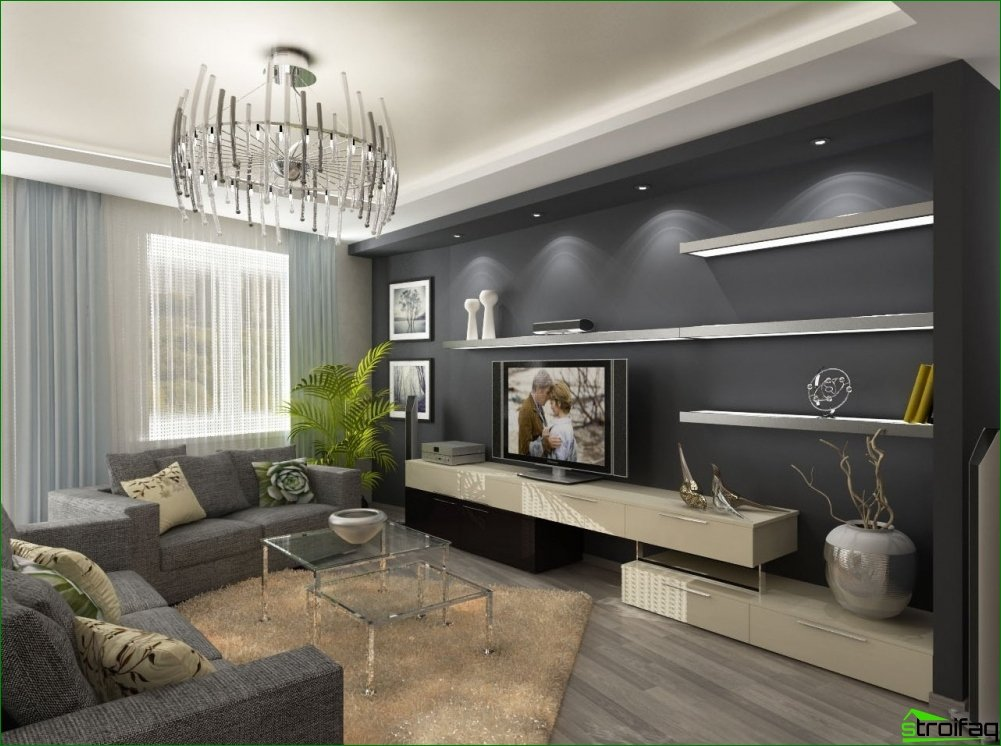 The choice of design apartments